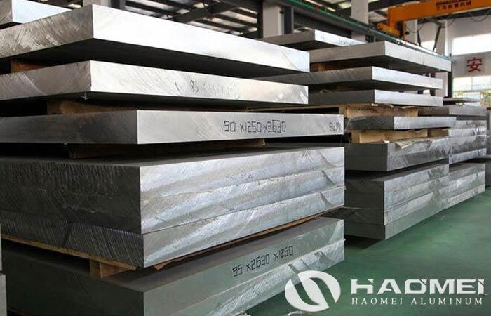 plate aluminium